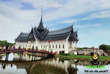 Muang Boran thành phố cổ đại đẹp nhất xứ sở chùa vàng
