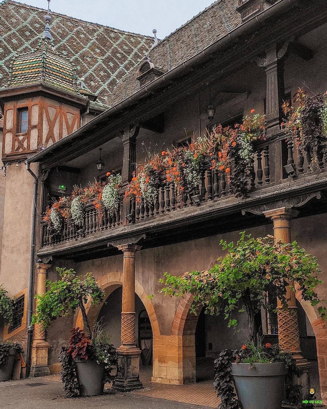 Kiến trúc ngôi làng Colmar - Pháp