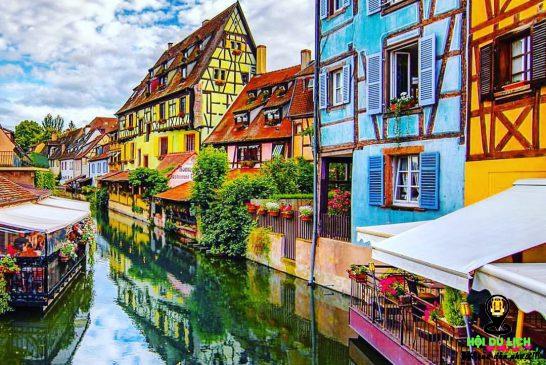 Ngất ngây với vẻ đẹp ngôi làng Colmar - Pháp
