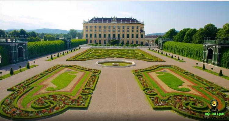 Cung điện Schönbrunn (ảnh sưu tầm)