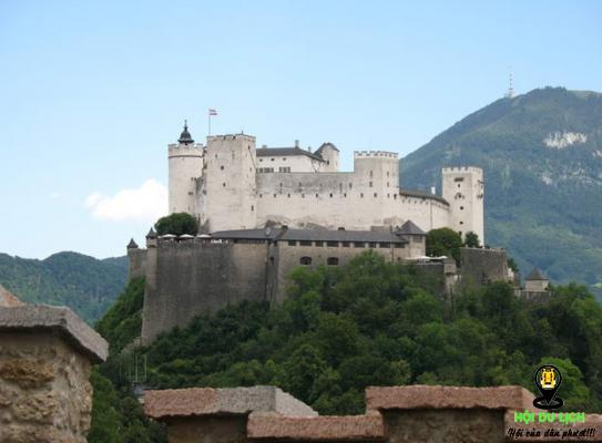 Lâu đài Hohensalzburg tại Áo (ảnh sưu tầm)