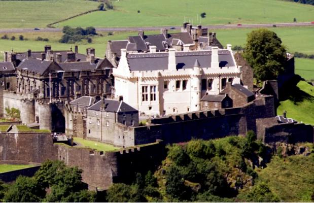 Lâu đài Stirling đài tráng lệ nhất của Scotland (ảnh sưu tầm)