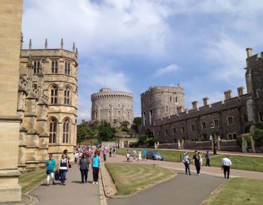 Lâu đài Windsor rộng lớn (ảnh sưu tầm)