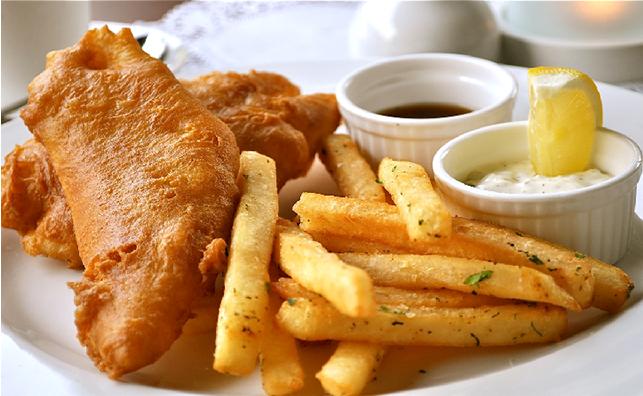 Món Fish and chips ngon độc đáo (ảnh sưu tầm)