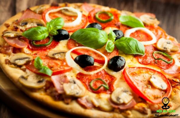 Món bánh pizza nhìn là muốn thưởng thức (ảnh sưu tầm)