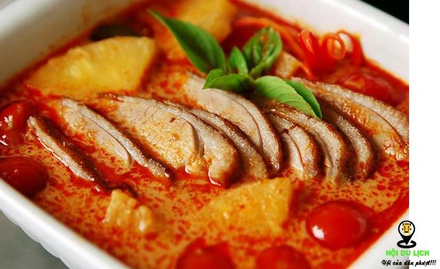 Món cà ri của Thái Lan (ảnh sưu tầm)