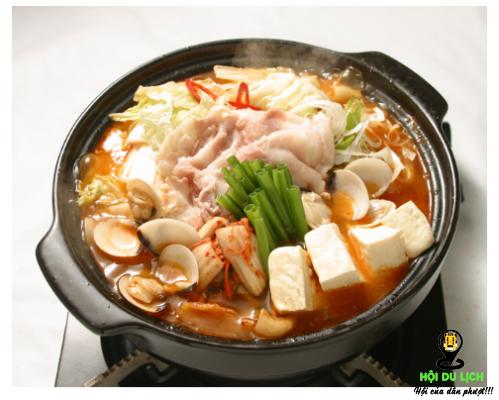 Món lẩu kim chi Hàn Quốc (ảnh sưu tầm)