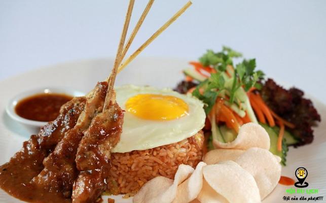 Món thịt xiên nướng quá hấp dẫn tại Bali
