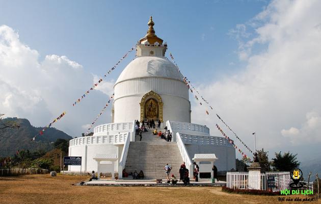 Ngôi chùa trắng World Peace (ảnh sưu tầm)