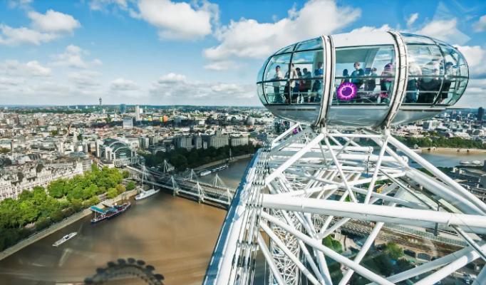 Ngắm nhìn thành phố London ở 360 độ (ảnh sưu tầm)