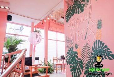Top 4 tiệm cà phê ngập sắc hồng tại Bangkok