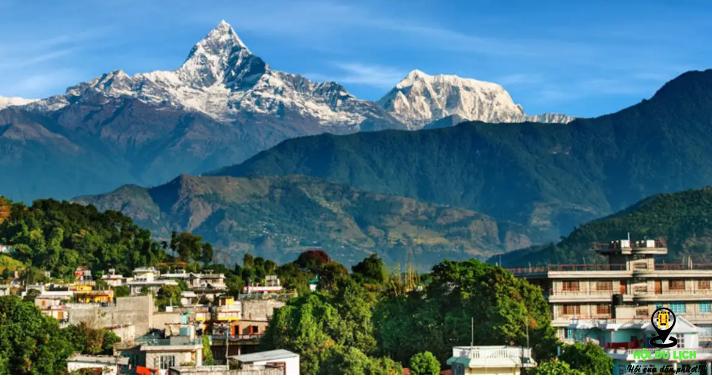 Pokhara với cảnh tuyệt đẹp (ảnh sưu tầm)