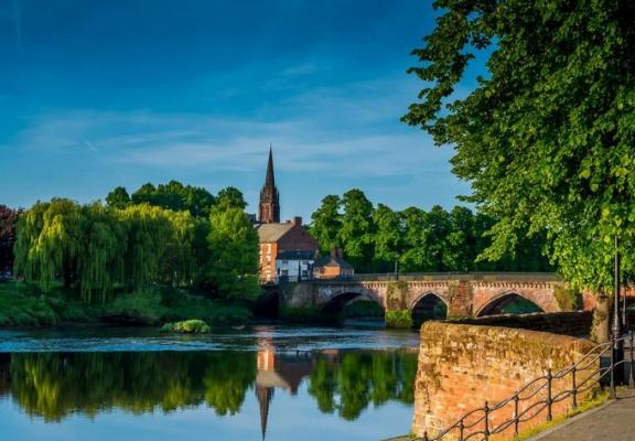 Thành phố Chester - đẹp yên bình (ảnh sưu tầm)