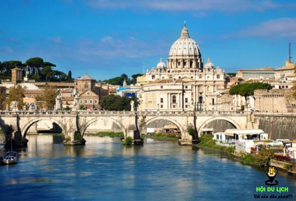 Thành phố Roma cổ kính tráng lệ (ảnh sưu tầm)
