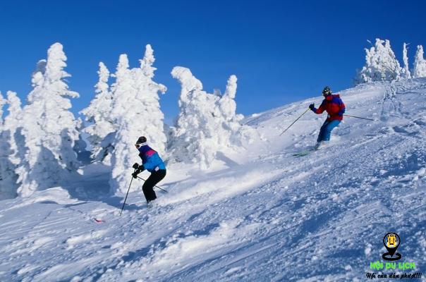 Trượt tuyết trên đảo JeJu (ảnh sưu tầm)