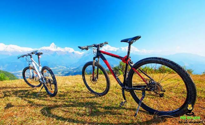 Trải nghiệm đạp xe quanh núi Pokhara (ảnh sưu tầm)