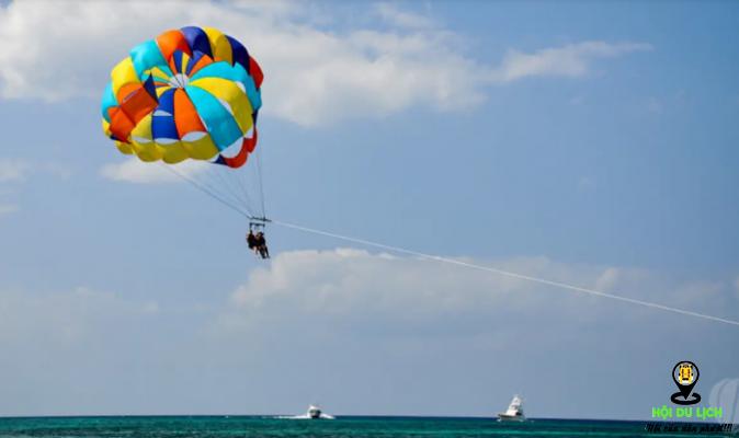 Trải nghiệm dù bay ở đảo Mauritius ( ảnh sưu tầm)