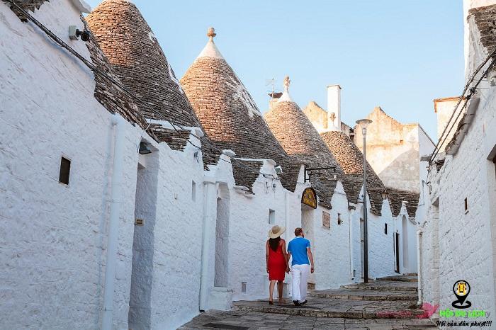 Kinh nghiệm du lịch thị trấn Trulli của Puglia