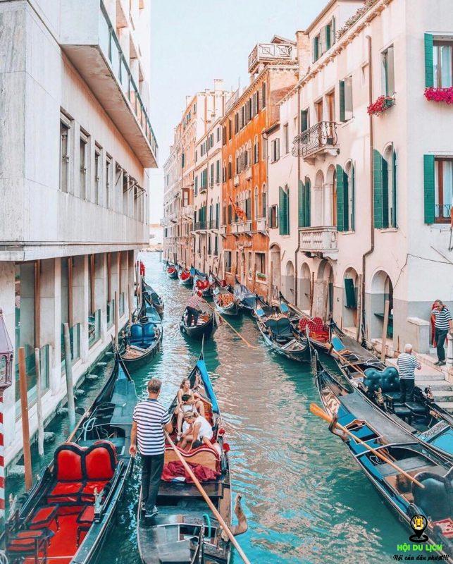 hệ thống kênh rạch nên Venice - Ý