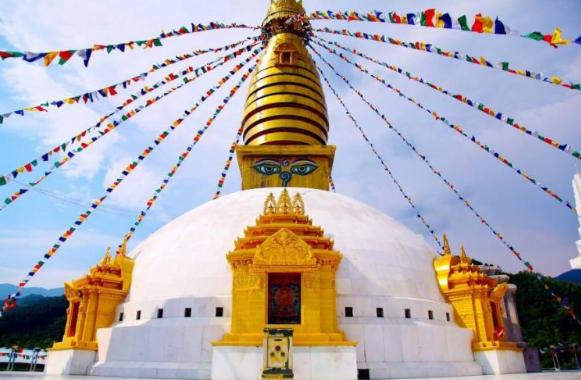 Đại bảo tháp Mandala Tây Thiên (ảnh sưu tầm)