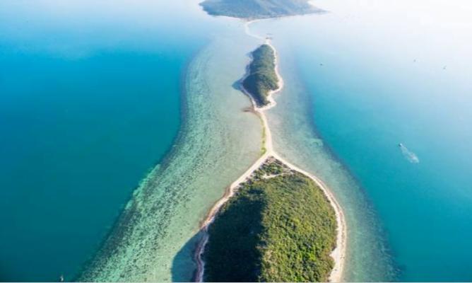 Đảo Điệp Sơn ở Nha Trang (ảnh sưu tầm)