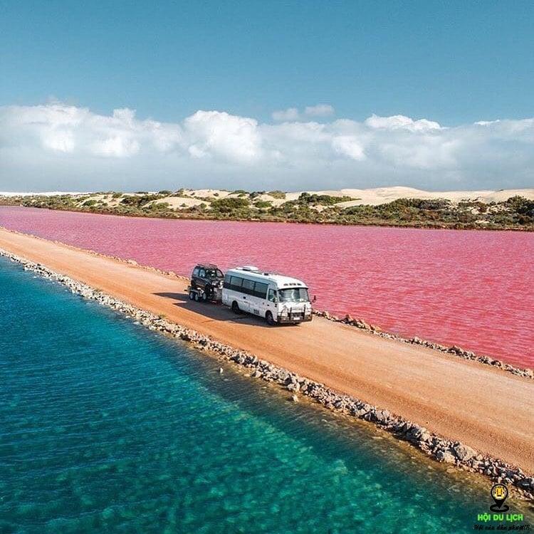 du lịch tại hồ MacDonnell (Australia)