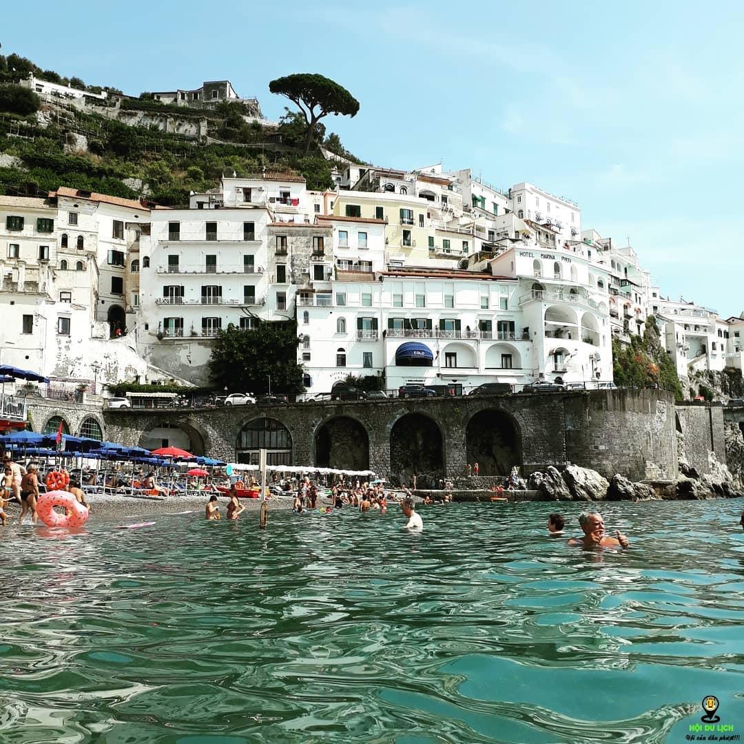 bờ biển Amalfi - Ý