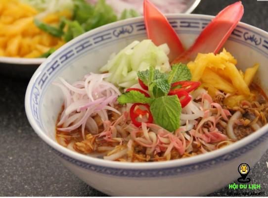 Assam Laksa là món ăn đường phố ngon nổi tiếng ở Malaysia (ảnh sưu tầm)