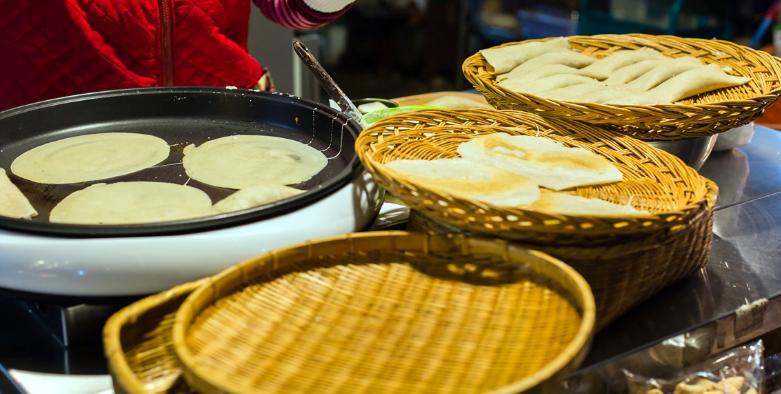 Bánh Bingddeok ở đảo Jeju ( ảnh sưu tầm)