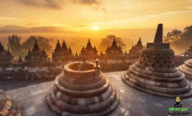 Borobudur điểm tham quan ấn tượng ở Indonesia (ảnh sưu tầm)