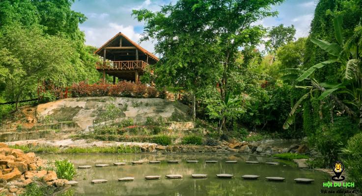 Cảnh đẹp thơ mộng ở Troh Bư (ảnh sưu tầm)