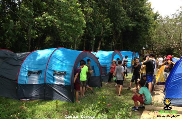 Cắm trại dã ngoại ở Troh Bư (ảnh sưu tầm)