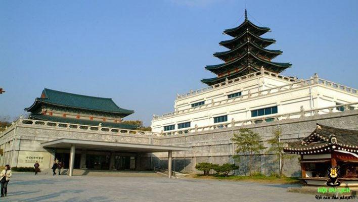 Cung điện Gyeongbok điểm du lịch ở Seoul ( ảnh sưu tầm)