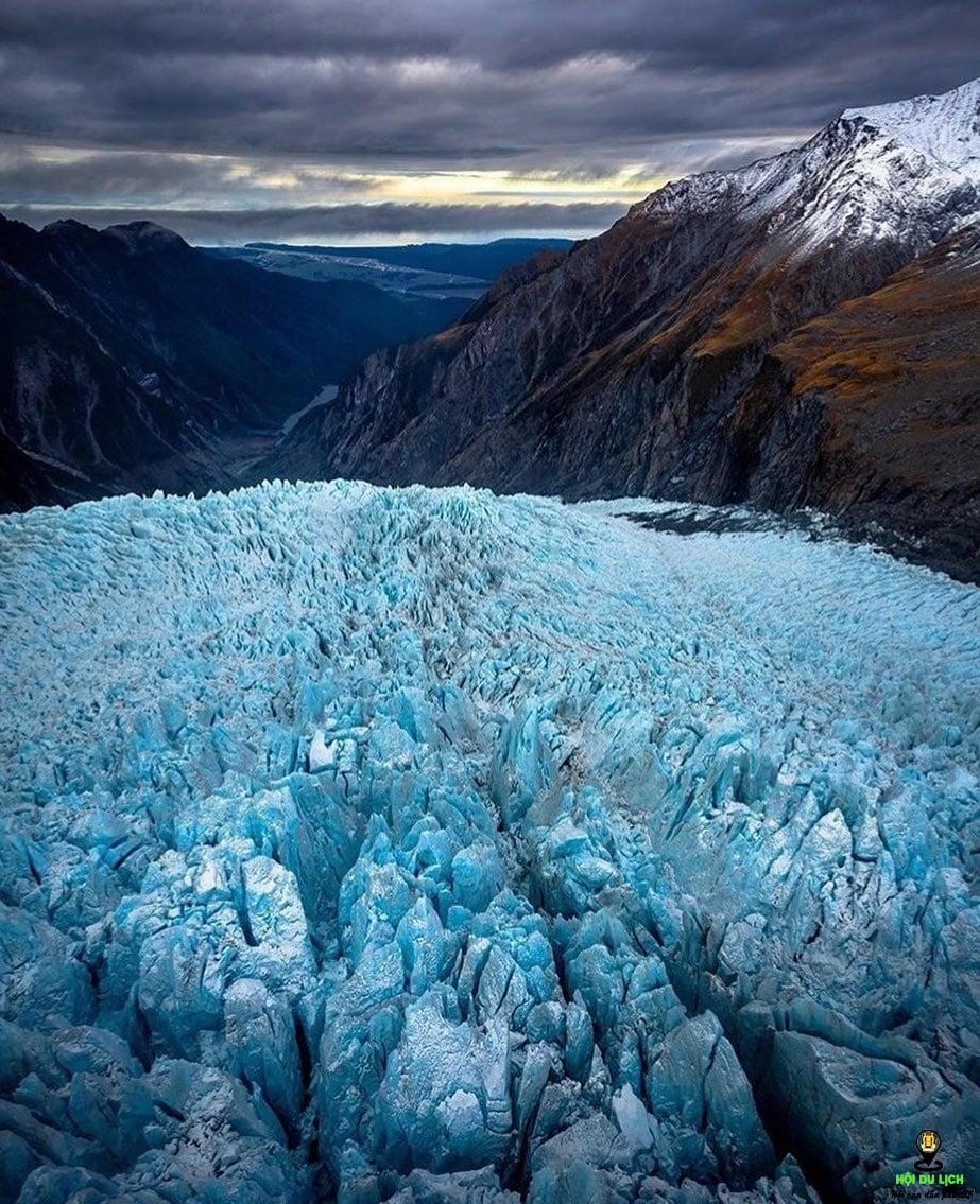 Động băng Fox Glacier - New Zealand – Một kỳ quan thú vị