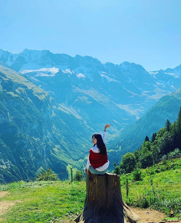Khung cảnh đẹp tuyệt vời của Jungfrau