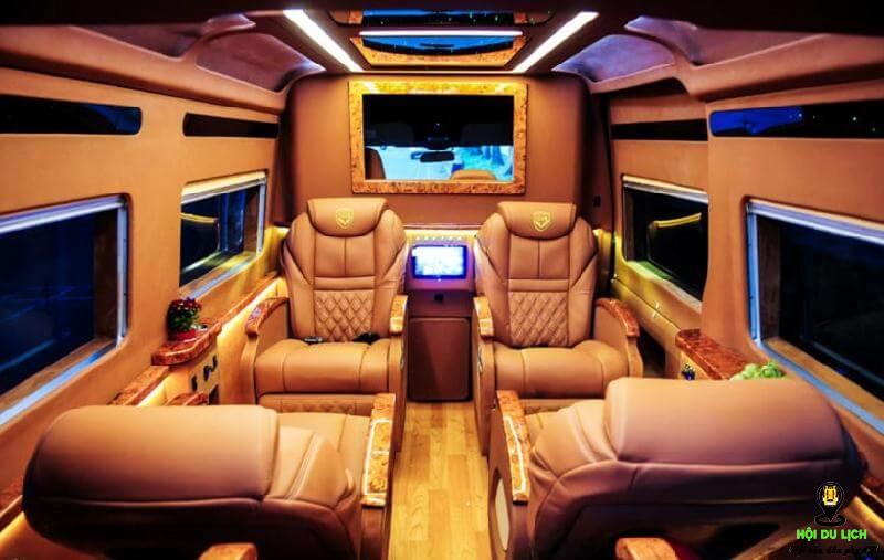 Những chiếc Limousine luôn chú trọng đến sự tiện nghi