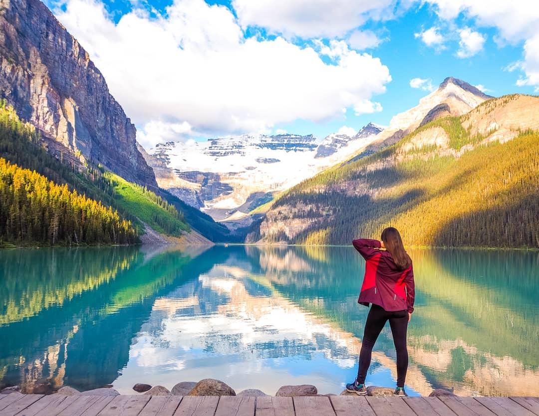 Hồ Louise - Canada