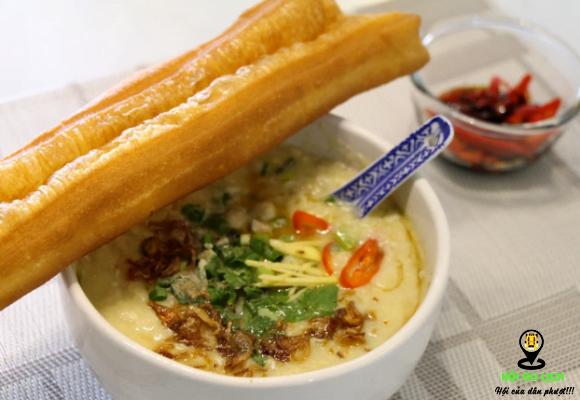 Món cháo Quảng Đông ai cũng yêu thích ở Malaysia (ảnh sưu tầm)