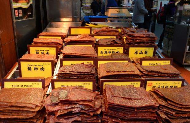 Món thịt heo ngọt sấy khô cực ngon ở Ma Cao (ảnh sưu tầm)