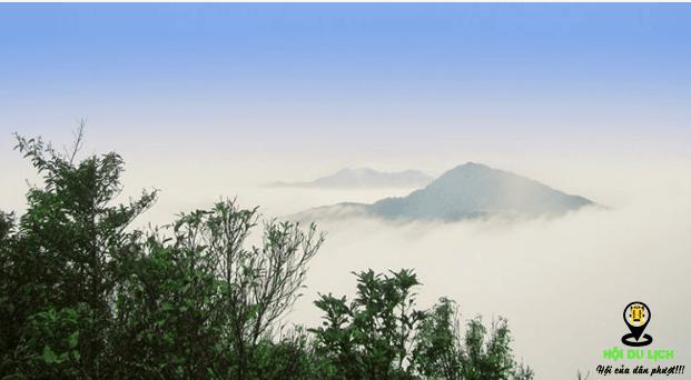 Ngắm mây ở Tam Đảo (ảnh sưu tầm)