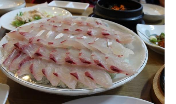 Sashimi là món ăn ngon khách du lịch thích tại đảoJeJu (ảnh sưu tầm)