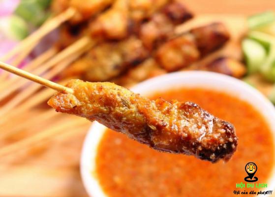 Thịt xiên nướng ngon khó cưỡng tại Malaysia (ảnh sưu tầm)