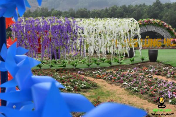 Thung Lũng Hoa Yên Tử điểm Du Lịch Quảng Ninh (ảnh sưu tầm)
