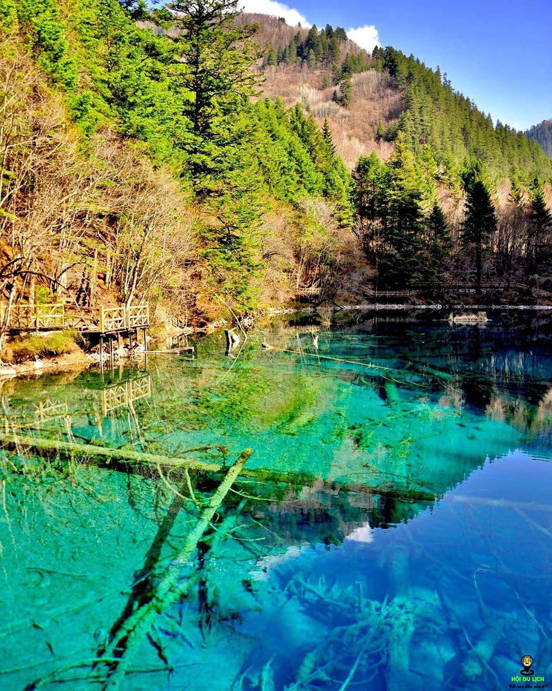 Thung lũng Jiuzhaigou - địa điểm du lịch lý tưởng
