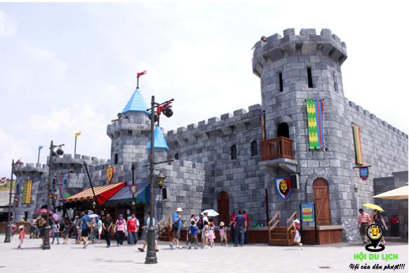 Vương quốc dành cho trẻ nhỏ vô cùng hấp dẫn tại Legoland ( ảnh sưu tầm)