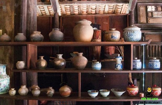 Vật dụng trong ngôi nhà cổ ở hoàng hoa thôn ( ảnh sưu tầm)