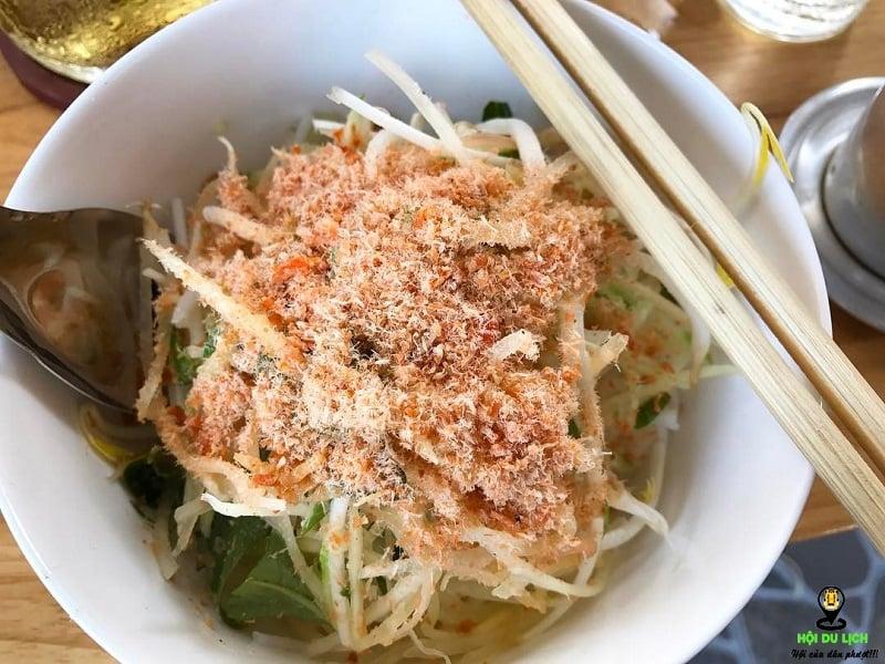 Món bún Nhâm ở Phú Quốc (ảnh sưu tầm)