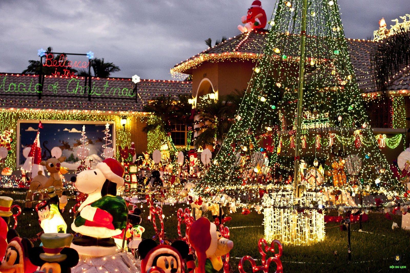 Không khí Giáng Sinh tại Mỹ