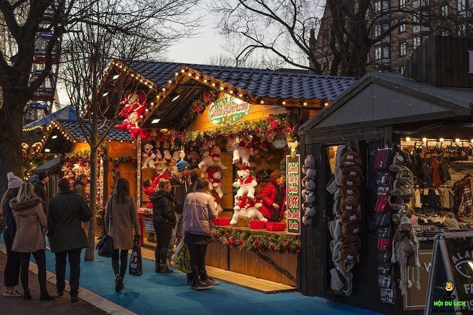không khí Giáng Sinh