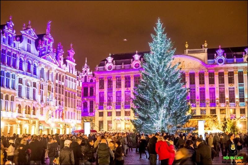 Không khí Giáng Sinh tại Pháp